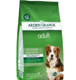 Arden Grange Adult Dog Dry Food, Lamb & Rice