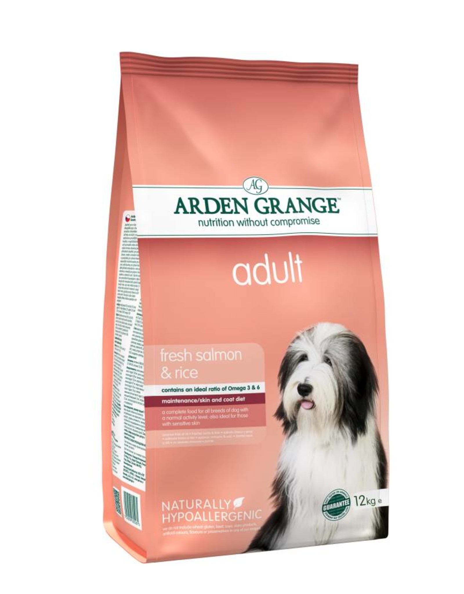 Arden Grange Adult Dog Dry Food, Salmon & Rice
