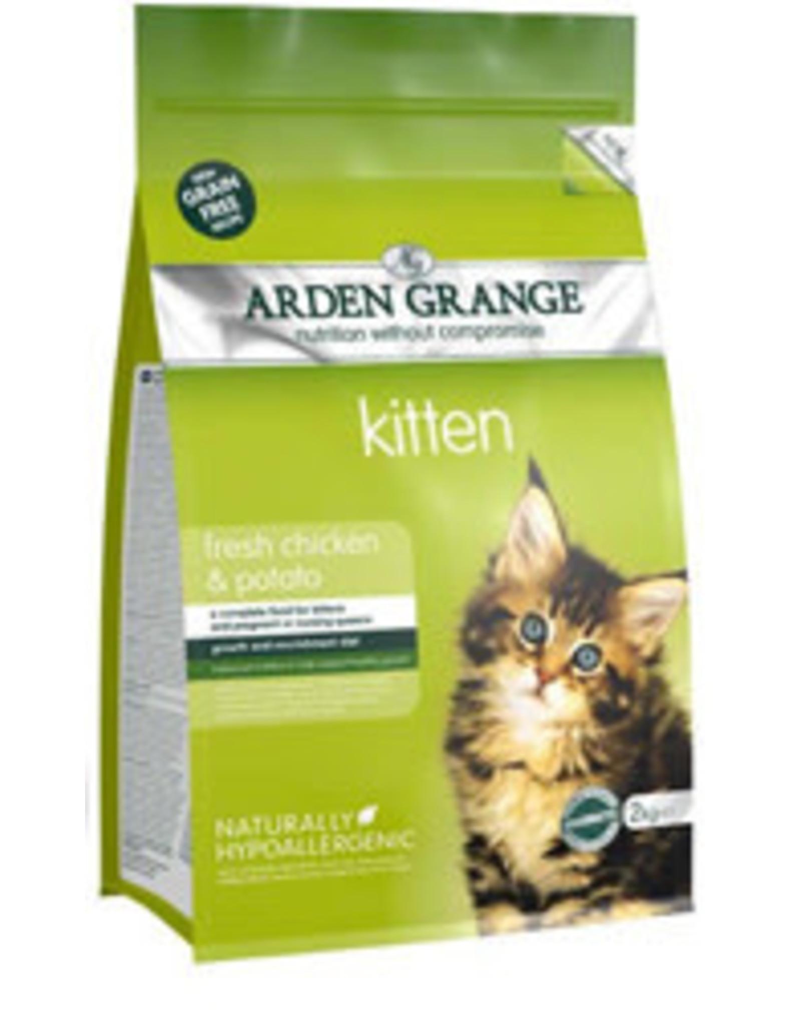 Arden Grange Grain Free Kitten Cat Dry Food, Chicken & Potato