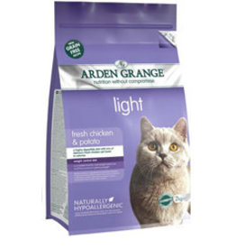 Arden Grange Grain Free Light Adult Cat Dry Food, Chicken & Potato