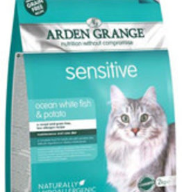 Arden Grange Grain Free Sensitive Cat Dry Food, Ocean White Fish & Potato