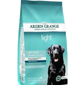 Arden Grange Light Dog Food, Chicken & Rice