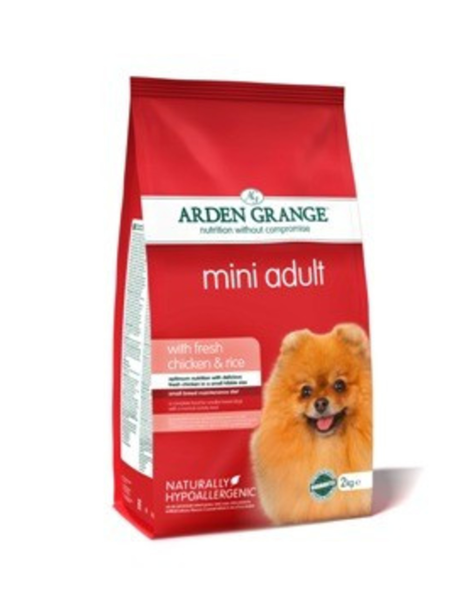 Arden Grange Adult Mini Dog Dry Food, Chicken & Rice