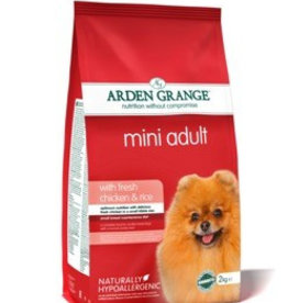 Arden Grange Adult Mini Dog Dry Food, Chicken & Rice
