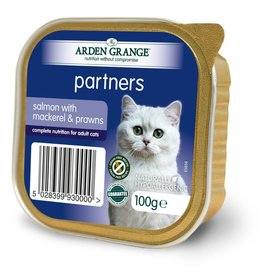 Arden Grange Partners Wet Cat Food Salmon with Mackerel & Prawns 100g