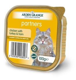 Arden Grange Partners Wet Cat Food Chicken with Turkey & Ham 100g