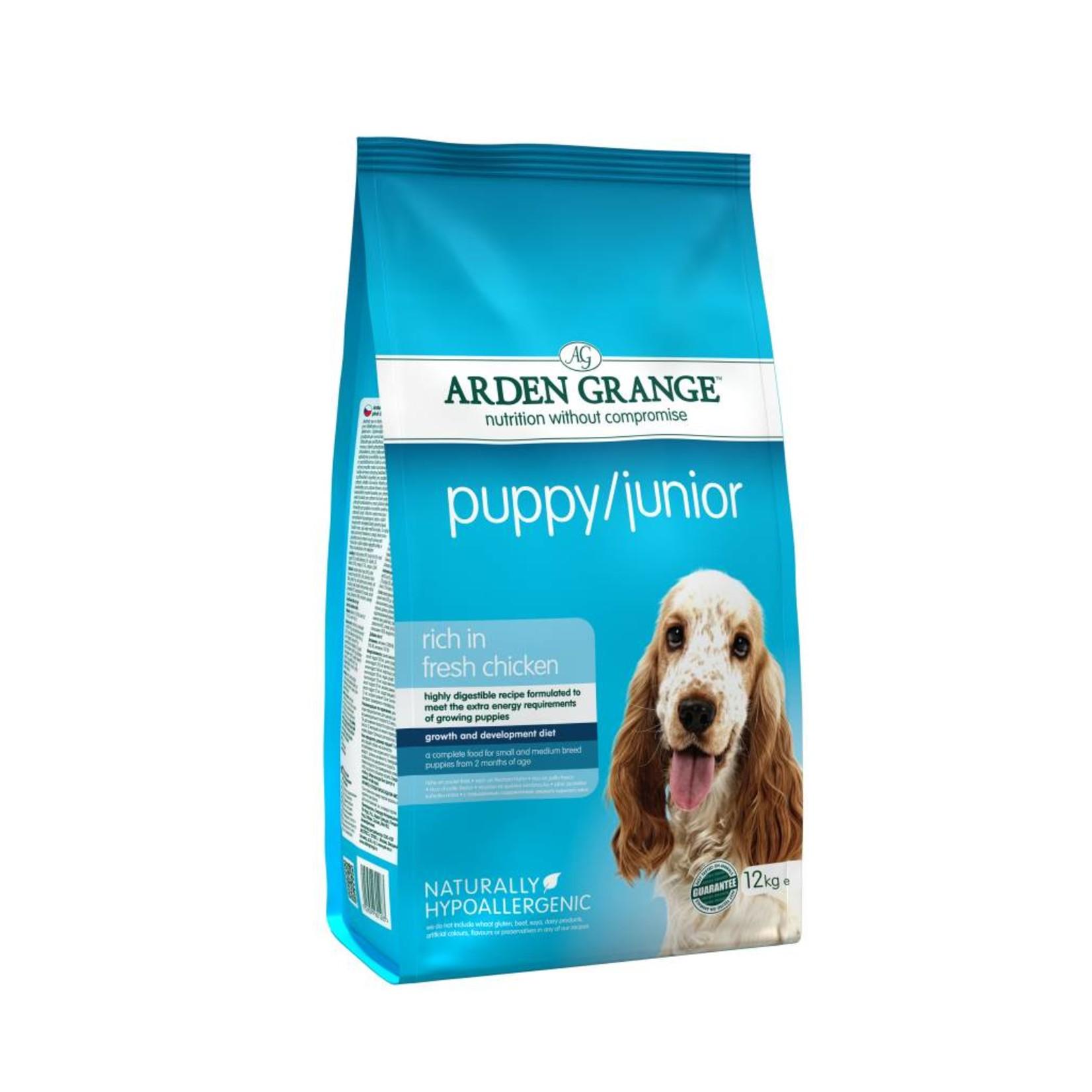 Arden Grange Puppy & Junior Dog Dry Food, Chicken & Rice