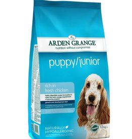 Arden Grange Puppy & Junior Food, Chicken & Rice