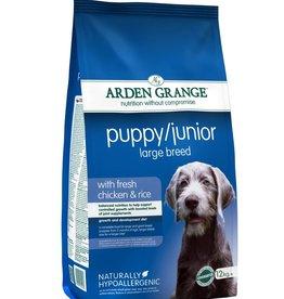 Arden Grange Puppy & Junior Large Breed Dog Dry Food, Chicken & Rice