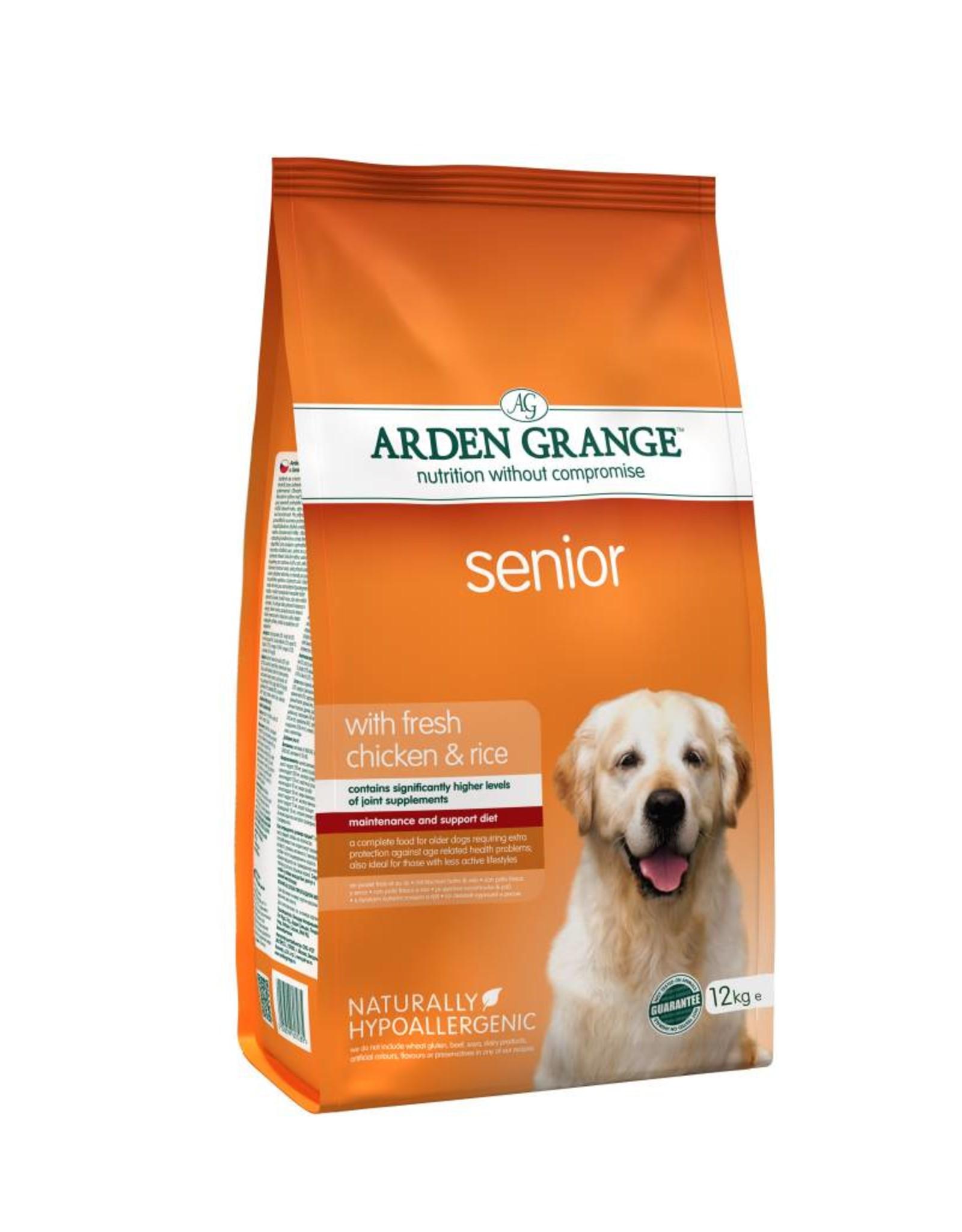 Arden Grange Senior Dog Dry Food, Chicken & Rice