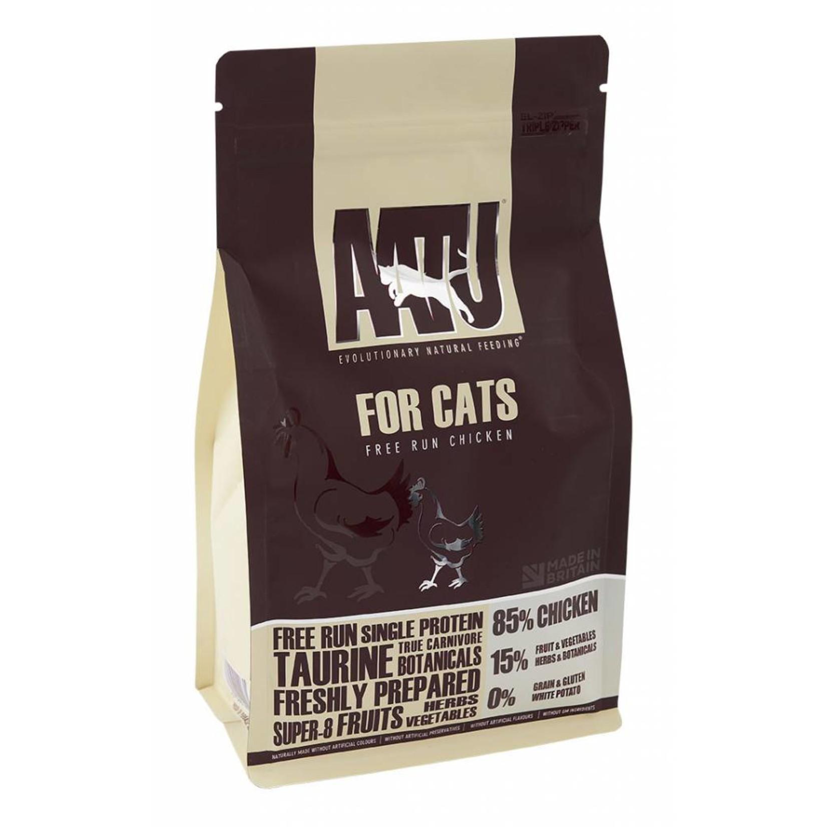 AATU 85/15 Adult Cat Dry Food, Chicken