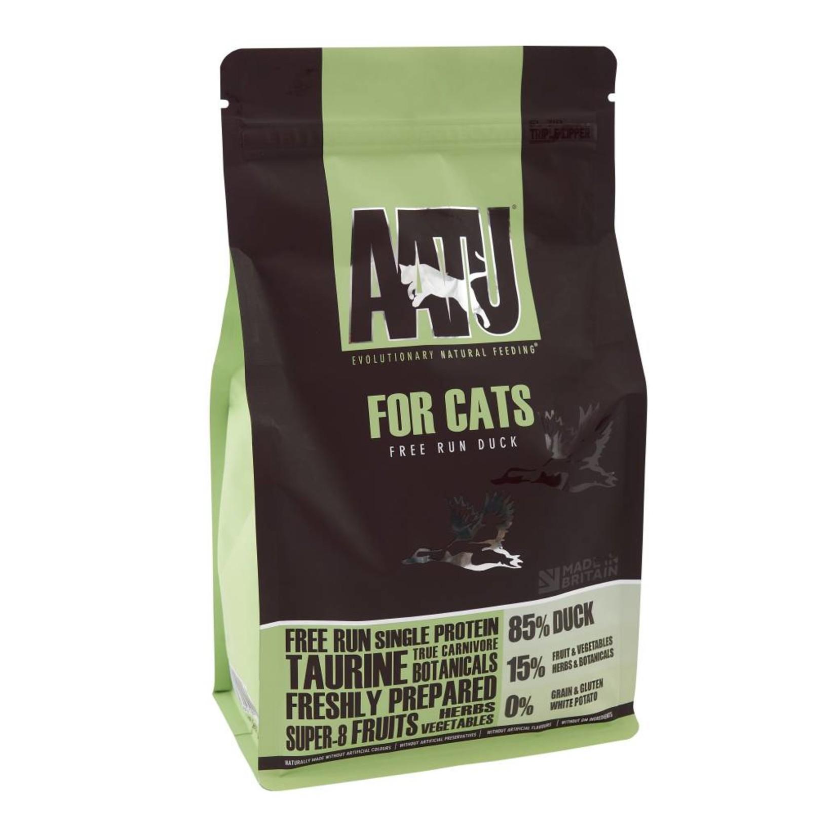 AATU 85/15 Adult Cat Dry Food, Duck
