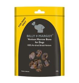 Billy + Margot Venison Marrowbones Dog Treats 300g