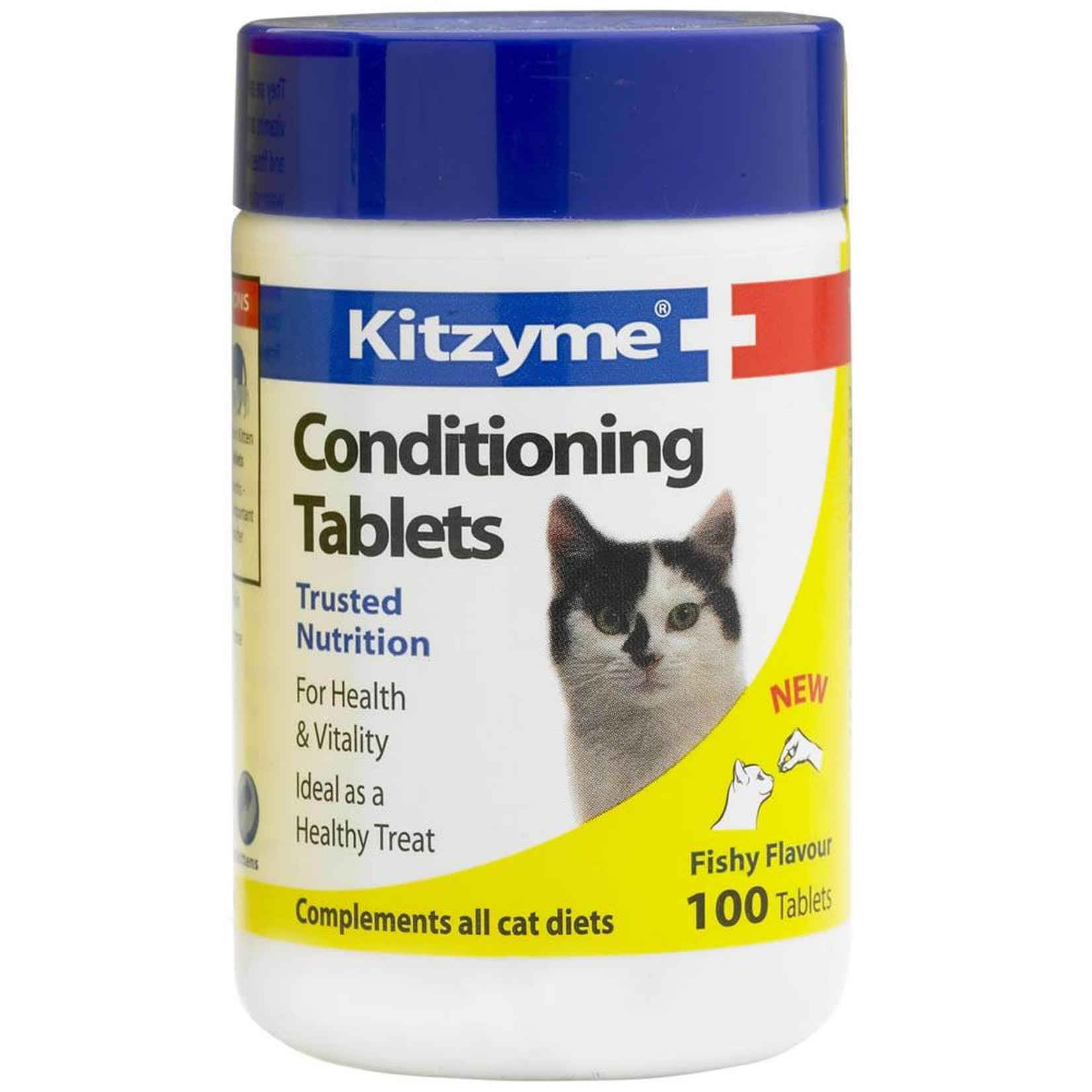 Bob Martin Kitzyme Conditioning Tablets for Cats Fishy Flavour, 100 Tablets  *CLEARANCE