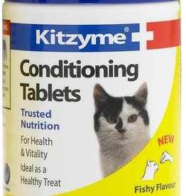 Bob Martin Kitzyme Conditioning Tablets For Cats Fishy Flavour, 100 Tablets