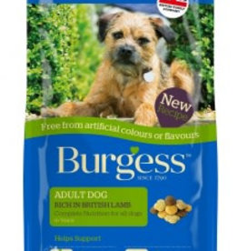 Burgess Free From Adult Dog Food, Lamb
