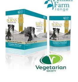 Burns Penlan Farm Dog Wet Food Pouch Complete Egg Brown Rice & Veg 400g