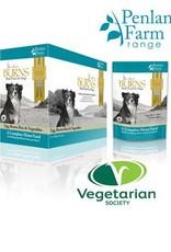 Burns Penlan Farm Dog Food Pouch Complete Egg Brown Rice & Veg 400g, Box of 6