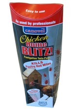 Canovel Chicken Home Blitz Poultry Red Mite Fumigator, 2 Pack