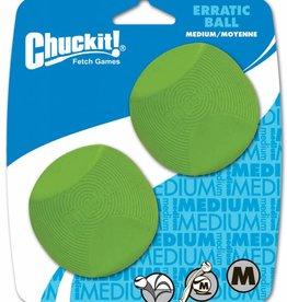 Chuckit Erratic Ball Medium 6.5cm, 2 pack