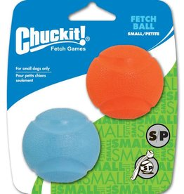 Chuckit Fetch Ball Dog Toy, Small 4.8cm, 2 pack