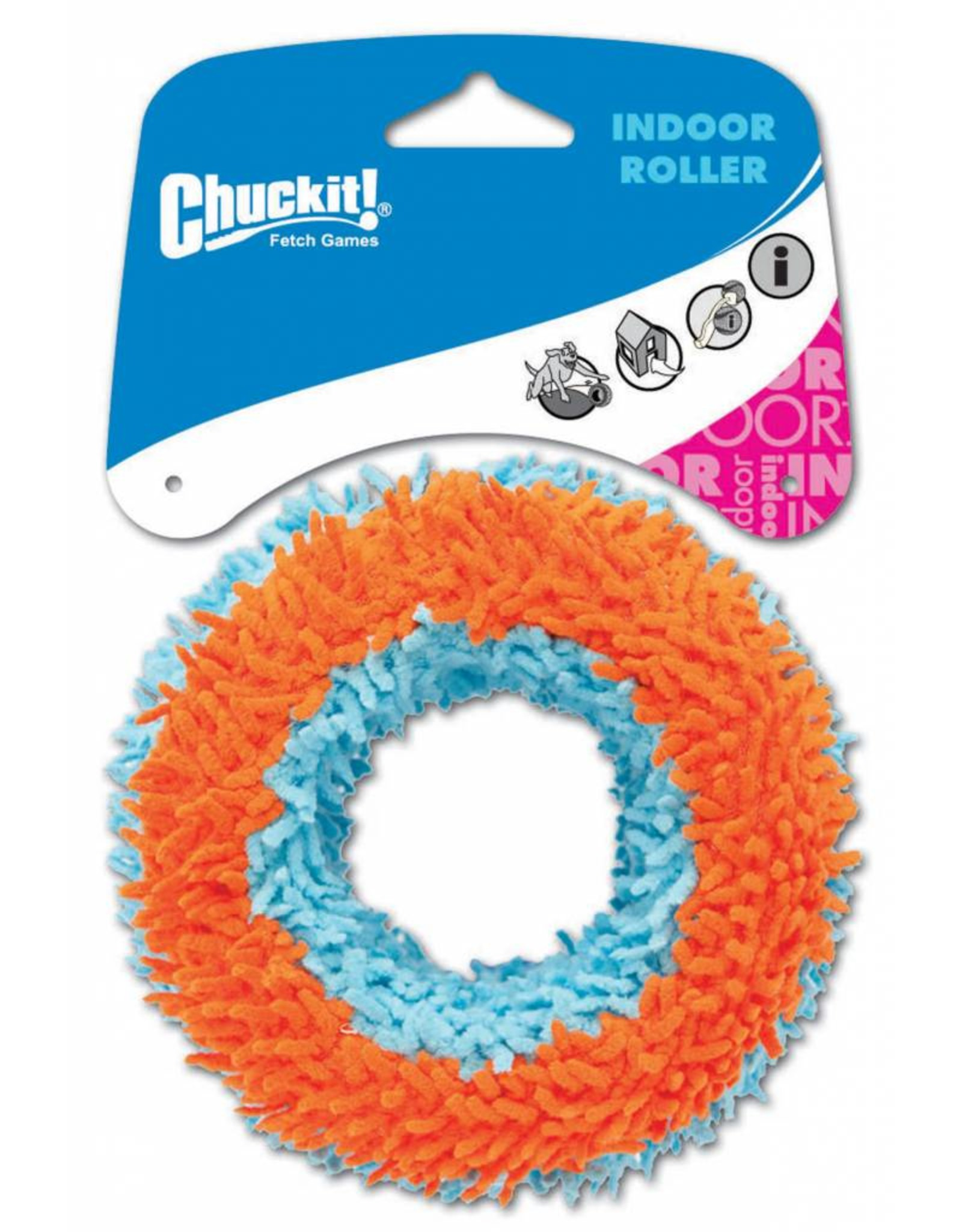 Chuckit Indoor Roller Dog Toy, 11cm