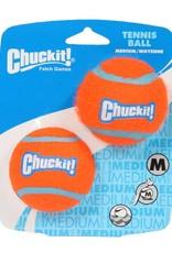 Chuckit Tennis Ball Dog Toy, Medium 6.5cm, 2 pack