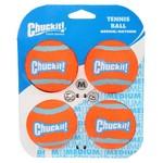 Chuckit! Tennis Ball Dog Toy, Medium 6.5cm, 4 pack