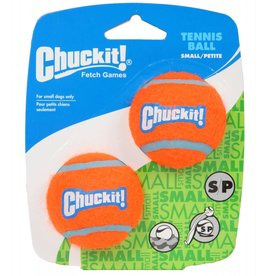 Chuckit Tennis Ball Dog Toy, Small 4.8cm, 2 pack