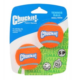 Chuckit Tennis Ball Dog Toy, Small 4.8cm, 2 pack