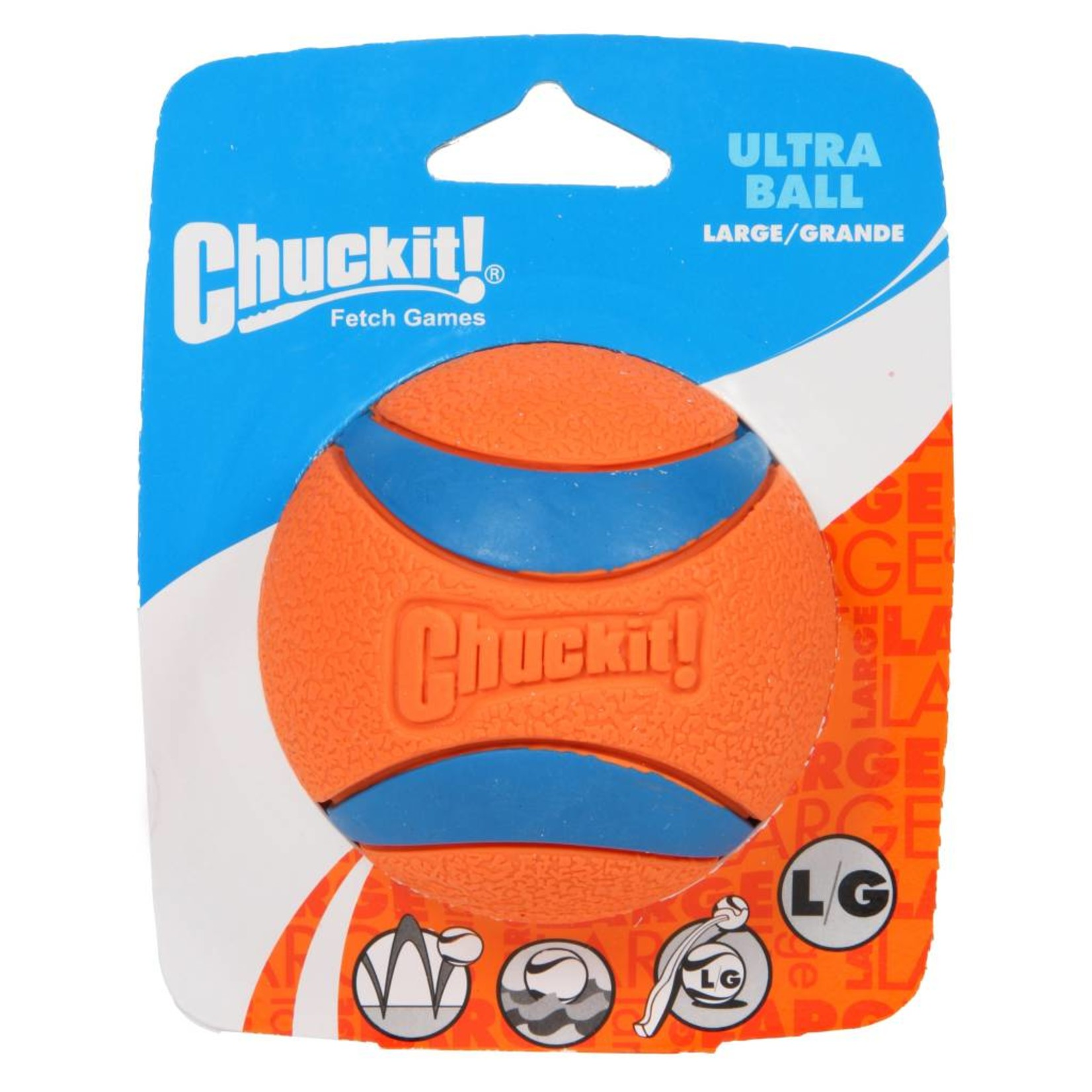 Chuckit! Ultra Ball Dog Toy, Large 7.3cm