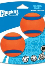 Chuckit Ultra Ball Dog Toy, Medium 6.5cm, 2 pack
