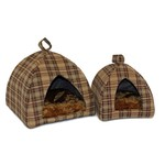 Cosipet Chequers Pyramid Cat Igloo