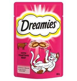 Dreamies Cat Treats Beef 60g
