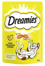 Dreamies Cat Treats Cheese 60g