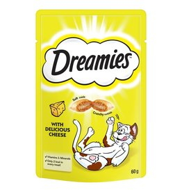 Dreamies Cat Treats Cheese 60g