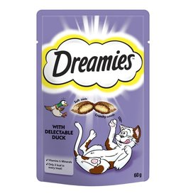 Dreamies Cat Treats Duck 60g