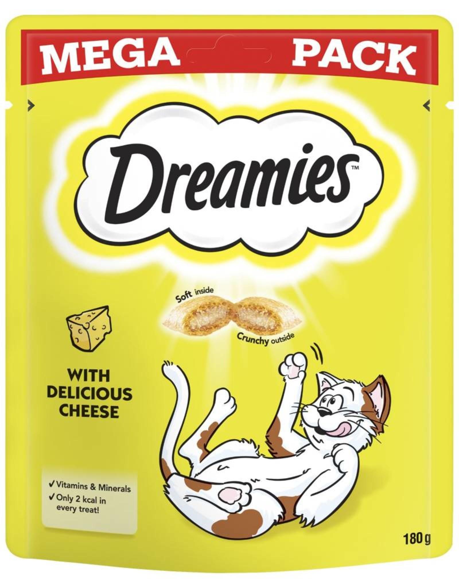 Dreamies Cat Treats Mega Pack Cheese 200g
