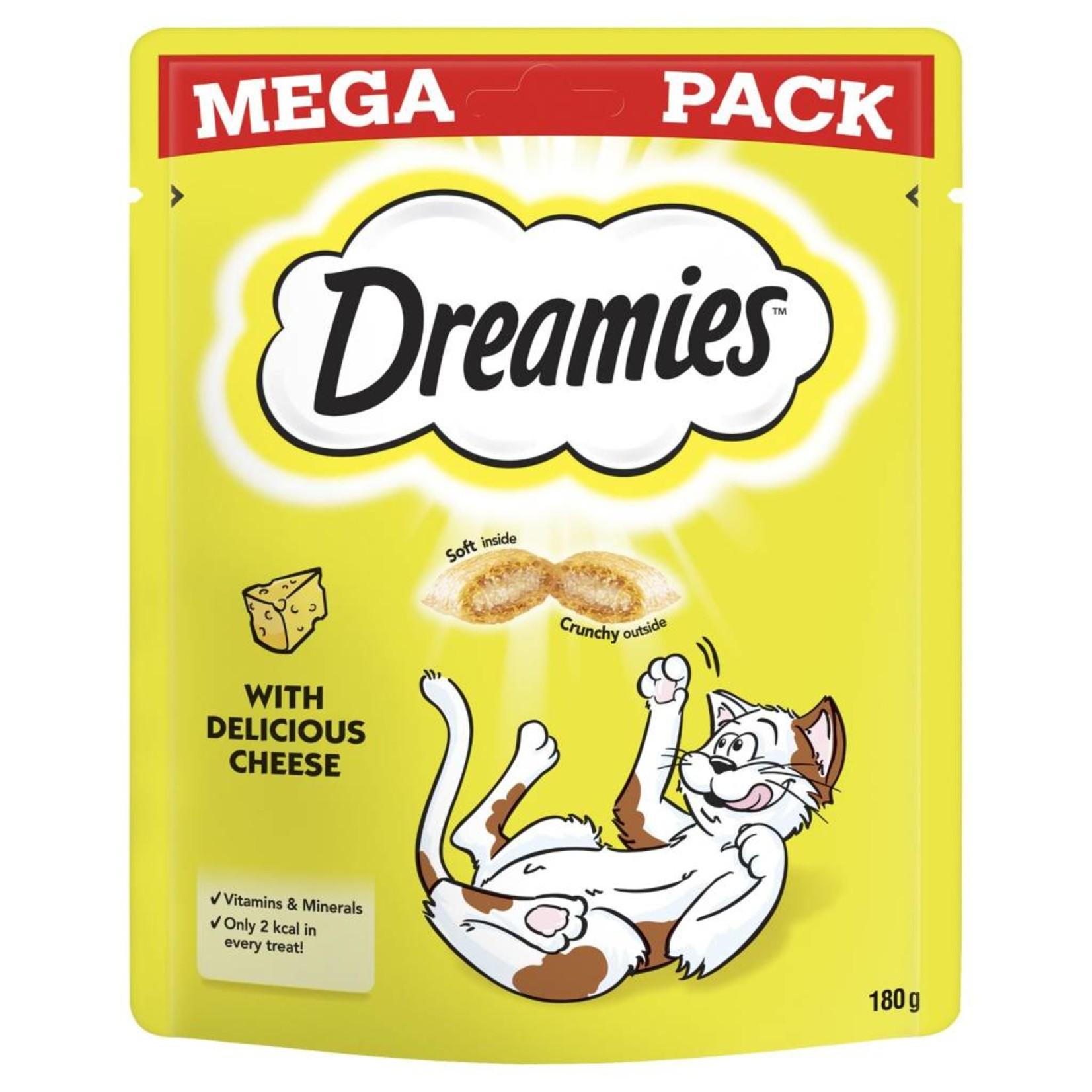 Dreamies Cat Treats Mega Pack Cheese, 200g