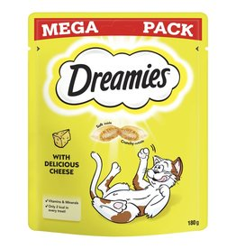 Dreamies Cat Treats Mega Pack Cheese 200g