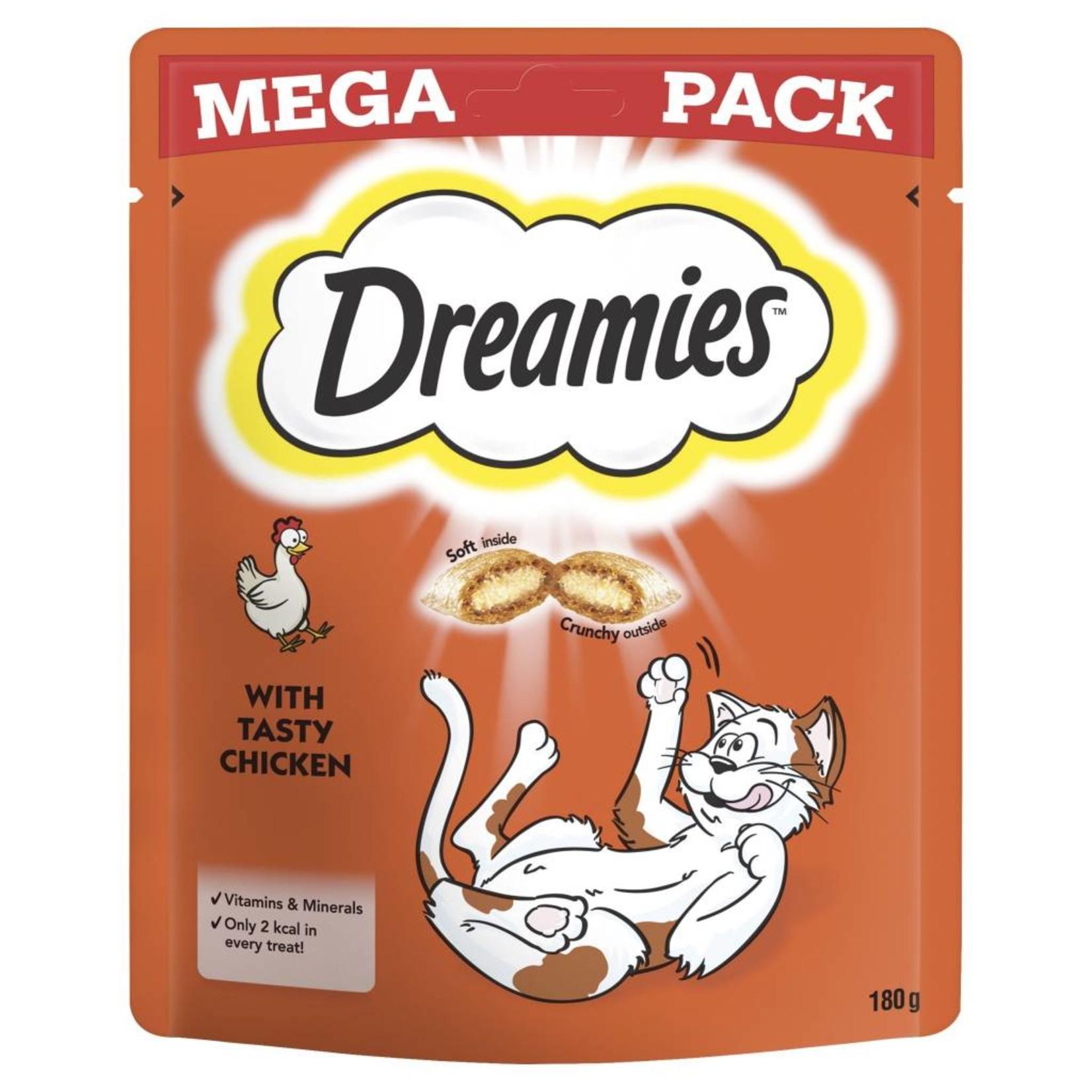 Dreamies Cat Treats Mega Pack Chicken, 200g