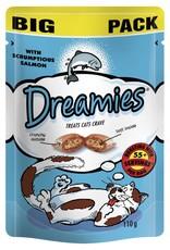 Dreamies Cat Treats Mega Pack Salmon 200g