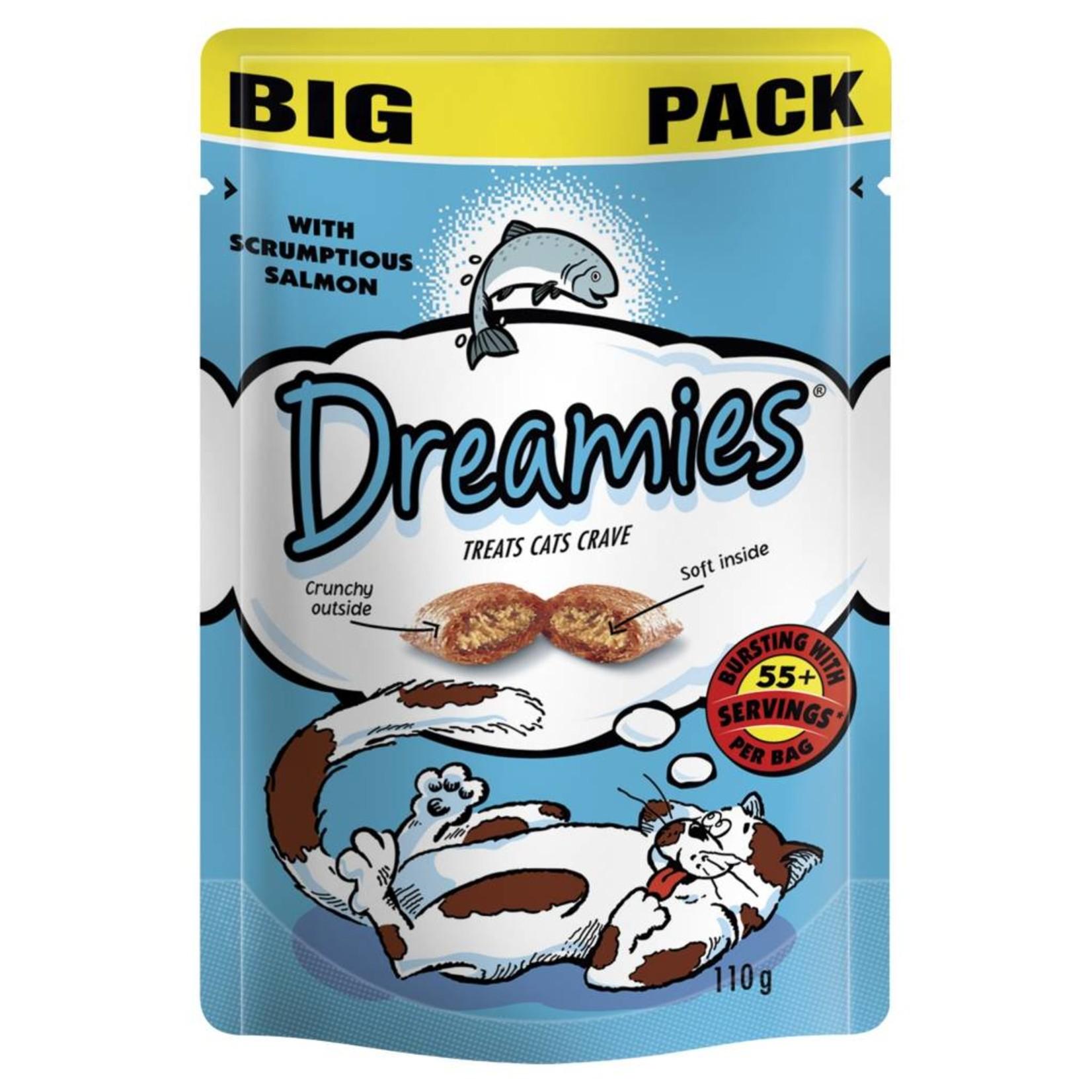 Dreamies Cat Treats Mega Pack Salmon, 200g