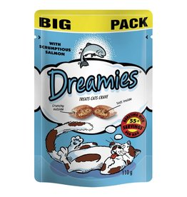 Dreamies Cat Treats Mega Pack Salmon 200g