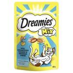Dreamies Cat Treats Mix Salmon & Cheese, 60g