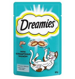 Dreamies Cat Treats Salmon 60g
