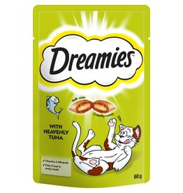 Dreamies Cat Treats Tuna 60g
