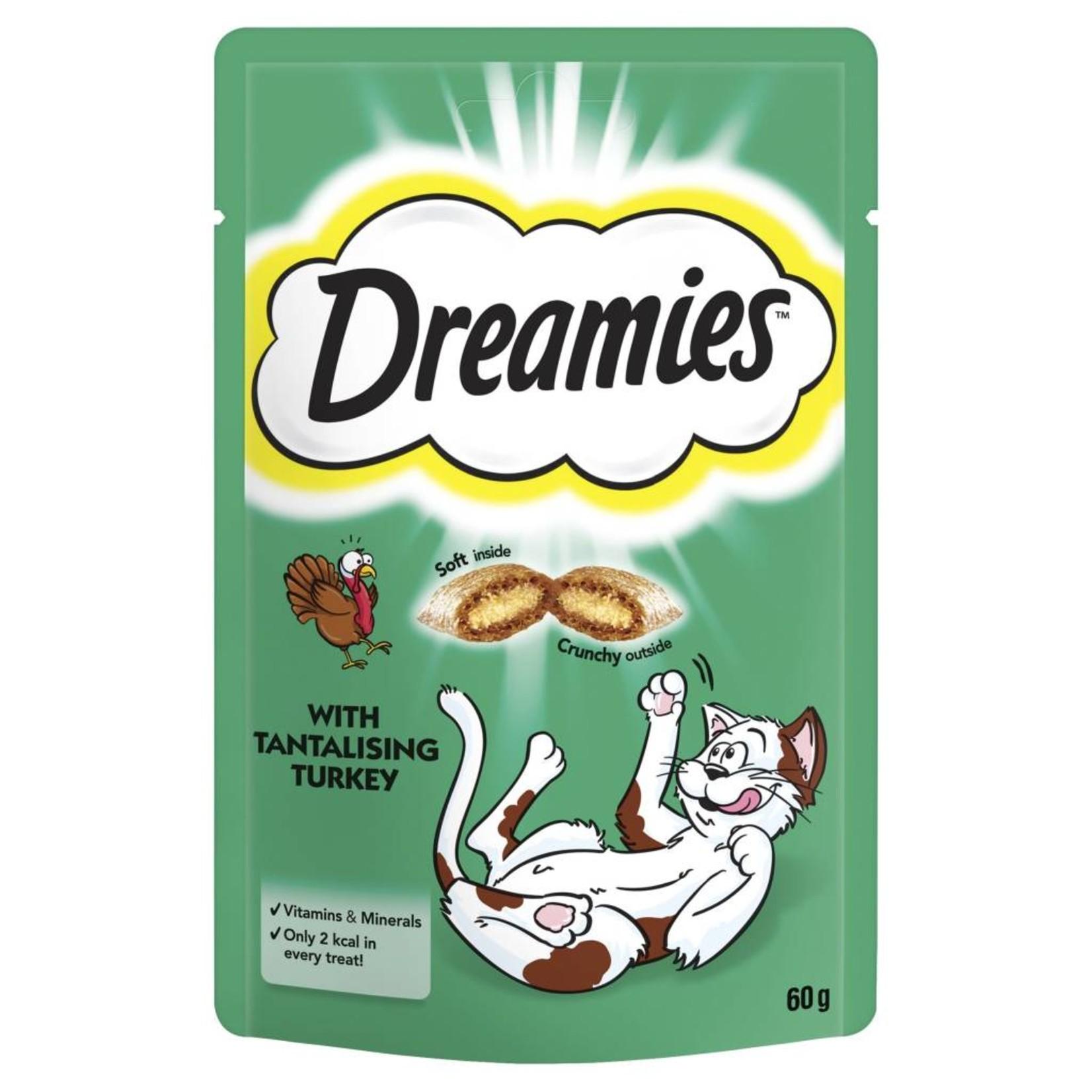 Dreamies Cat Treats Turkey, 60g