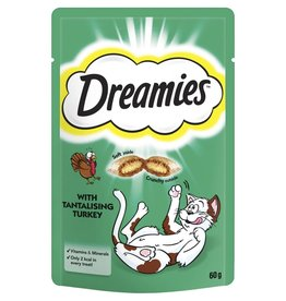 Dreamies Cat Treats Turkey 60g