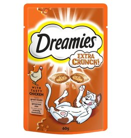 Dreamies Cat Treats Extra Crunch with Chicken 60g